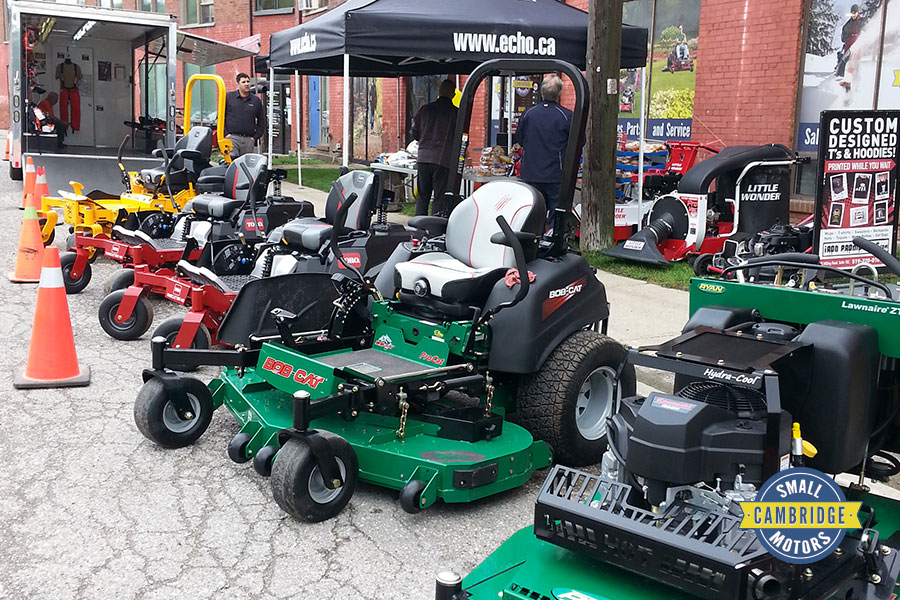 cambridge small motors annual bbq lawn mowers riding tractors yard maintenance